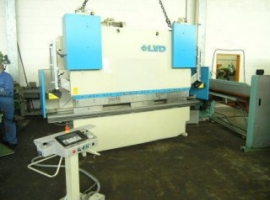 Press brakes LVD 80 X 2500 MM (USED)