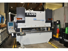 Press brakes LVD PPEB 80 TON X 2500 MM CNC (USED)