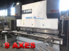 Press brakes LVD 170 TON X 3100 MM CNC (USED)